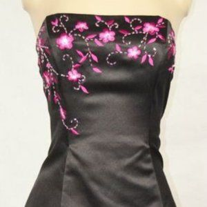 Zum Zum by Niki Livas Strapless Formal/Prom Dress